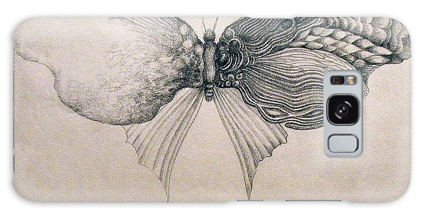 Butterfly For Jeffrey Galaxy Case