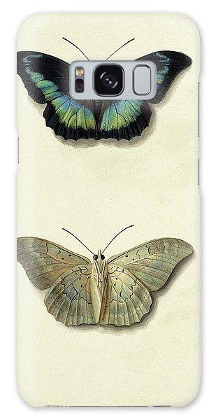Iridescent Galaxy Case - Butterfly by Georgius Jacobus Johannes van Os