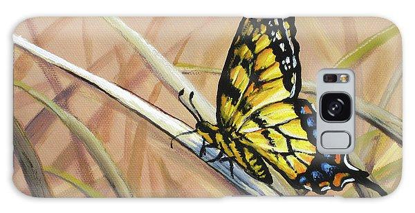 Butterfly Meadow - Part 2 Galaxy Case