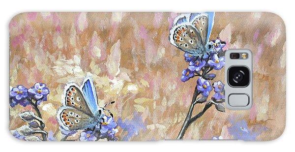 Butterfly Meadow - Part 3 Galaxy Case