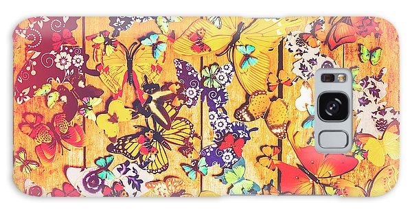 Made Galaxy Case - Butterfly Papercraft  by Jorgo Photography - Wall Art Gallery