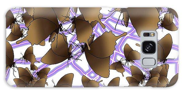 Galaxy Case - Butterfly Patterns 12 by Joan Stratton