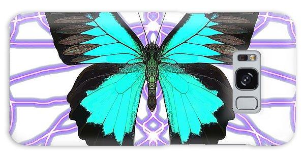 Galaxy Case - Butterfly Patterns 18 by Joan Stratton
