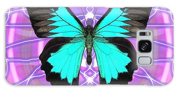 Galaxy Case - Butterfly Patterns 19 by Joan Stratton