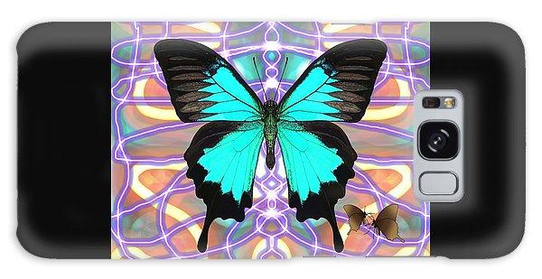 Galaxy Case - Butterfly Patterns 20 by Joan Stratton