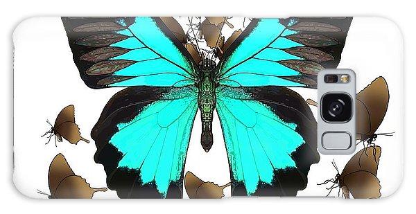 Galaxy Case - Butterfly Patterns 25 by Joan Stratton