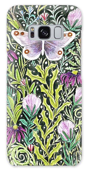 Butterfly Tapestry Design Galaxy Case