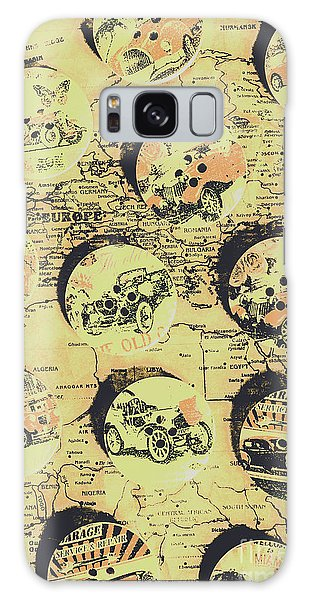 Old Car Galaxy Case - Button Auto Tour by Jorgo Photography - Wall Art Gallery