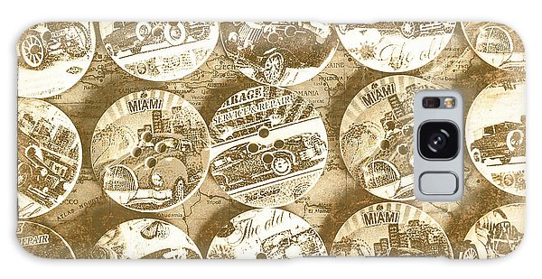 Old Car Galaxy Case - Button Roadhouse by Jorgo Photography - Wall Art Gallery
