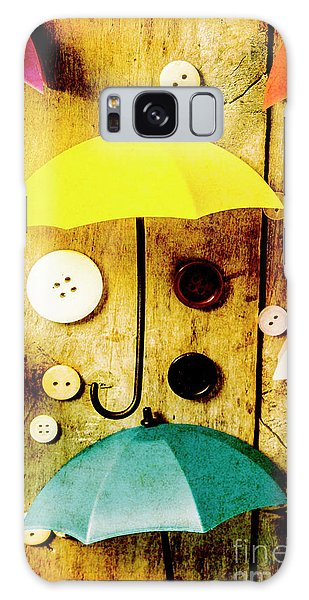 Parasol Galaxy Case - Button Storm by Jorgo Photography - Wall Art Gallery