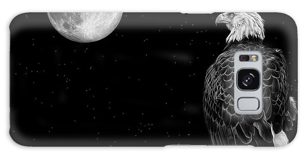 By The Light Of The Moon Galaxy Case