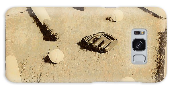 Weathered Galaxy Case - Bygone Baseball by Jorgo Photography - Wall Art Gallery
