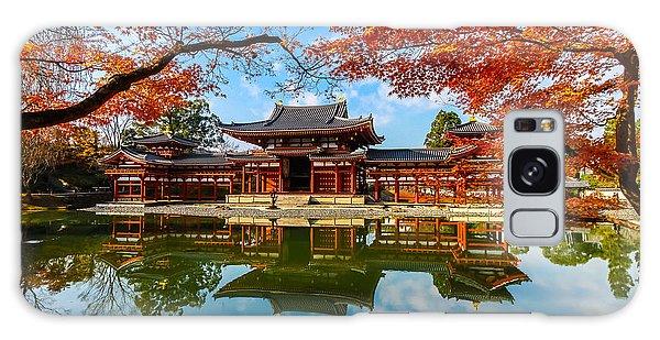 Travel Destinations Galaxy Case - Byodo-in Temple. Kyoto,buddhist Temple by Somsak Nitimongkolchai