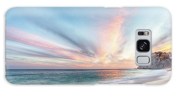Galaxy Case featuring the photograph Cabo San Lucas Beach Sunset Mexico by Nathan Bush
