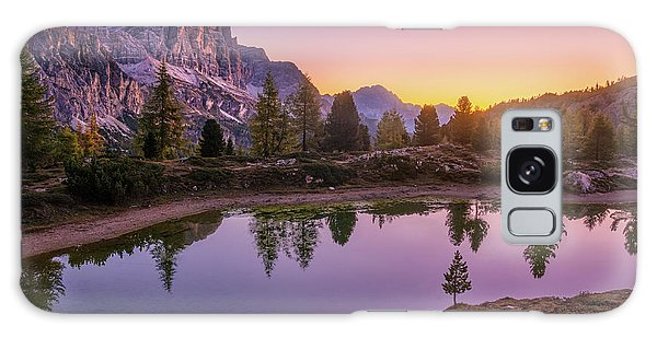 Calm Morning On Lago Di Limides Galaxy Case