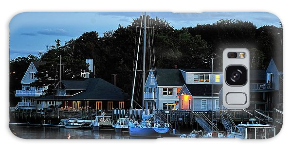 Camden Maine Twightlight Galaxy Case