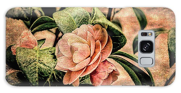 Camellia Grunge Galaxy Case