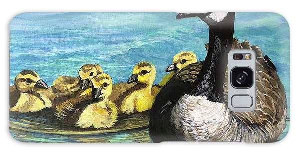 Canadian Goise And Goslings Galaxy Case