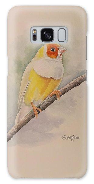 Canary Bird Galaxy Case