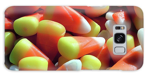 Galaxy Case featuring the photograph Candy Corn For Halloween by Bill Swartwout Fine Art Photography