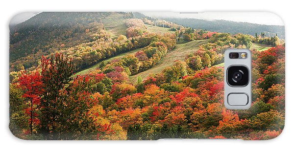 Cannon Mountain Fall Foliage Galaxy Case