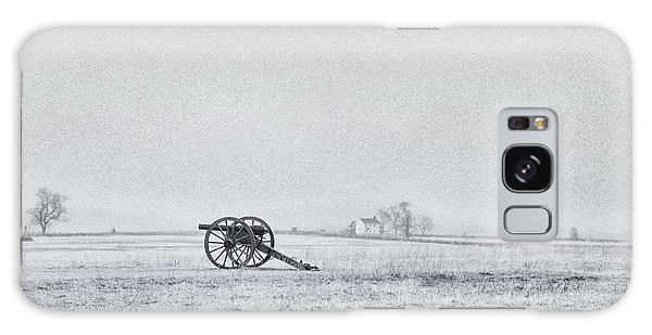Cannon Out In The Field Galaxy Case