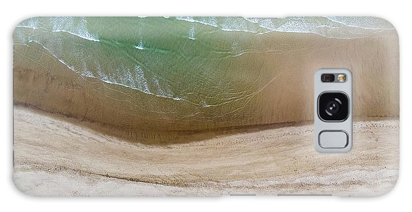 Cape Cod Beach Abstract Galaxy Case