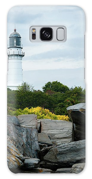 Cape Elizabeth Light Galaxy Case
