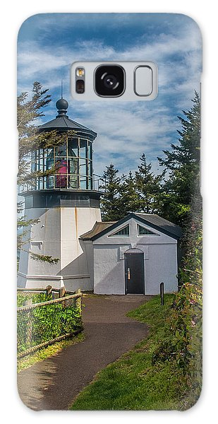 Cape Mereas Lighthouse Galaxy Case