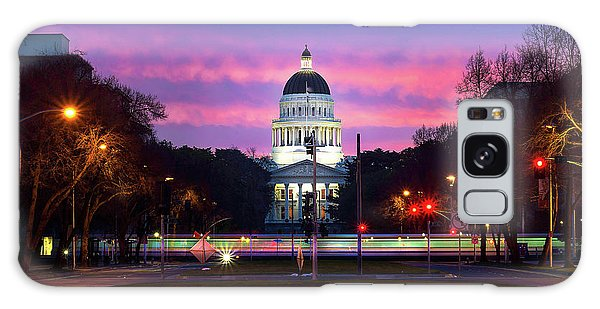 Capital Sunrise Galaxy Case