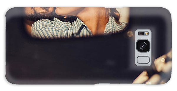 Two People Galaxy Case - Carefree Young Couple In Sunglasses by Maksim Ladouski