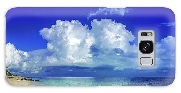 Caribbean Clouds Galaxy Case