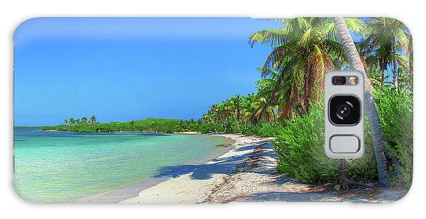 Caribbean Palm Beach Galaxy Case