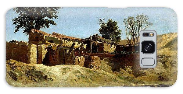 Dilapidation Galaxy Case - Carlos De Haes / 'tile Factories On Principe Pio Hill', Ca. 1872, Spanish School. by Carlos de Haes -1829-1898-