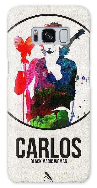 Classic Rock Galaxy Case - Carlos Santana II by Naxart Studio