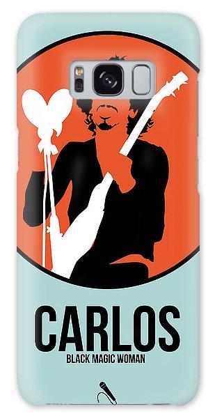 Classic Rock Galaxy Case - Carlos Santana by Naxart Studio