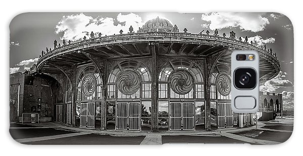 Galaxy Case featuring the photograph Carousel House by Steve Stanger