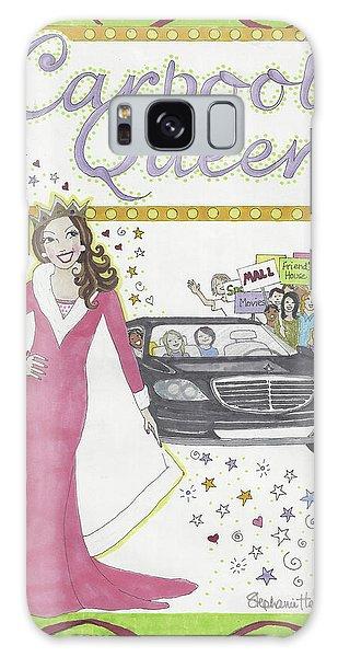 Carpool Queen Galaxy Case