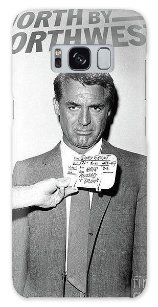 Roger Dean Galaxy Case - Cary Grant, Screen Test, Wardrobe Test, North By Northwest, Hair Mussed And Drunk by Thomas Pollart