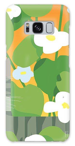 Gardenia Galaxy Case - Cat Look 11 by Artistan