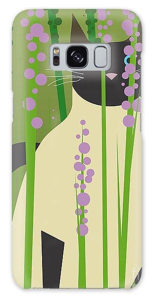 Gardenia Galaxy Case - Cat Look 4 by Artistan
