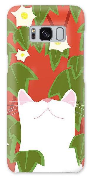 Gardenia Galaxy Case - Cat Look 5 by Artistan