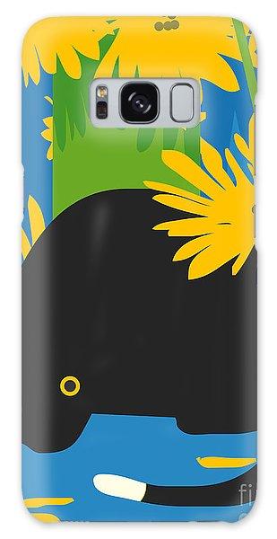 Gardenia Galaxy Case - Cat Look 6 by Artistan
