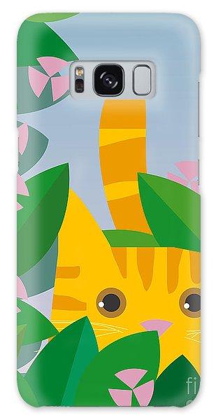 Gardenia Galaxy Case - Cat Look 7 by Artistan