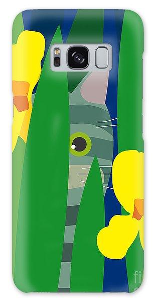 Gardenia Galaxy Case - Cat Look 9 by Artistan