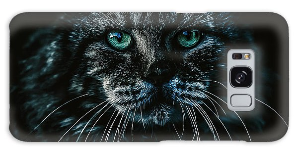 Galaxy Case featuring the photograph Cat by Rob D