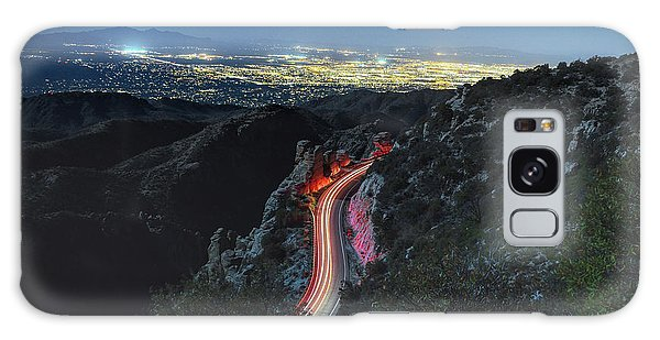 Catalina Highway Moonlight Galaxy Case