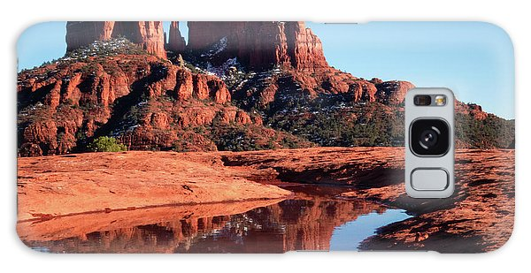 Cathedral Rock Reflection II Galaxy Case