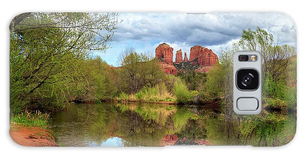 Cathedral Rock Reflection Galaxy Case