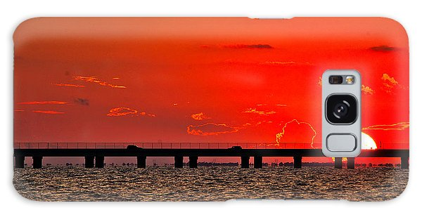 Causeway Sunset Galaxy Case